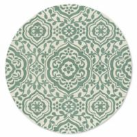 Kaleen Tara 11-Foot 9-Inch Round Mumbai Area Rug in Mint