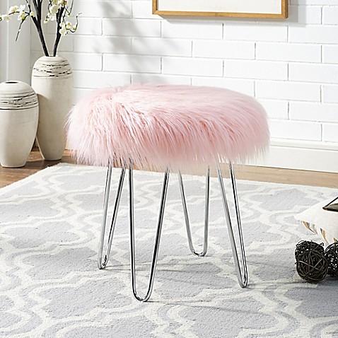 Faux Fur Ottoman Bed Bath Amp Beyond