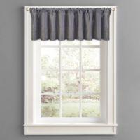 Twilight Polyester Window Valance in Grey