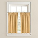 Twilight Window Curtain Tier Pair in Gold