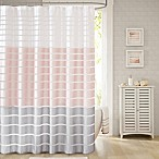 Demi Standard Shower Curtain in Blush
