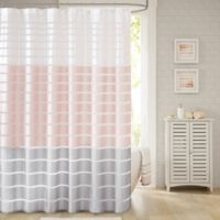 Demi 72-Inch x 72-Inch Shower Curtain in Blush