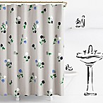 kate spade new york Willow Court Shower Curtain