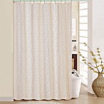 Mancala Shower Curtain in Taupe