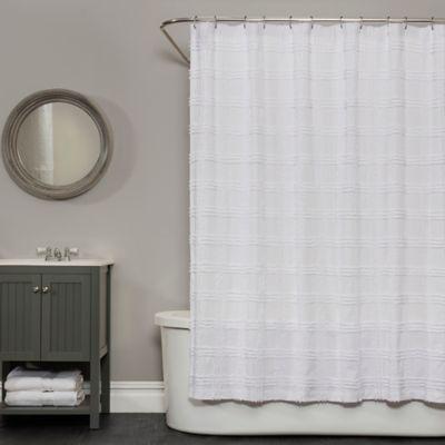 market street bath brigitte 72inch x 72inch shower curtain in white