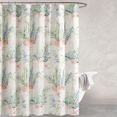 Oceana 72 Inch Multicolored Shower Curtain