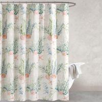 Oceana 72-Inch Multicolored Shower Curtain