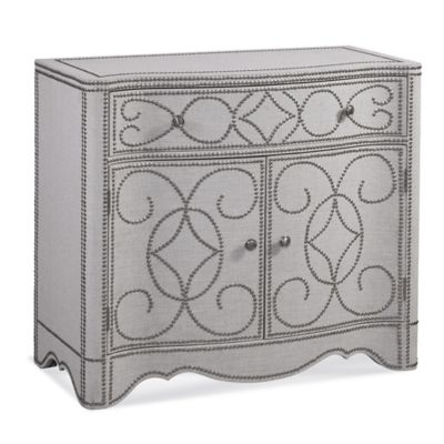 Bassett Mirror Company Dension In-Town Hospitality Cabinet in Antique Metal - Buy Antique Storage Cabinets From Bed Bath & Beyond