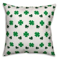Designs Direct St. Patrick's Shamrock Throw Pillow