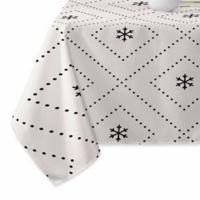 DENY Designs Creamy Dreamy Tablecloth in Black