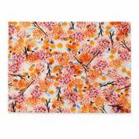 DENY Designs Floral Forest Placemat in Orange (Set of 4)