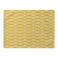 DENY Designs Kunda Spiral Placemat in Yellow