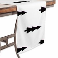 DENY Designs Joyeux Noel 90-Inch Table Runner in White