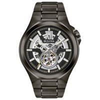 Bulova Automatic Men's 46mm Bracelet Watch in Goldtone Stainless Steel
