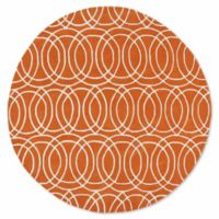 Kaleen Tara Concentric 11-Foot 9-Inch Round Rug in Orange