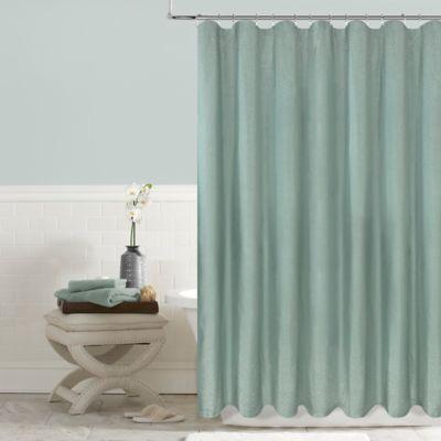 Elegant Twilight 72 Inch X 96 Inch Shower Curtain In Aqua
