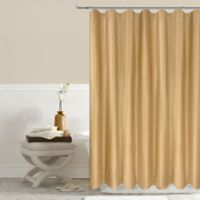 Twilight 54-Inch x 78-Inch Shower Curtain in Gold