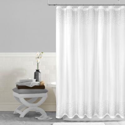 Buy Extra Long White Shower Curtain from Bed Bath & Beyond