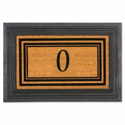 Buy front door mats from bed bath beyond monogram letter o door mat insert planetlyrics Images