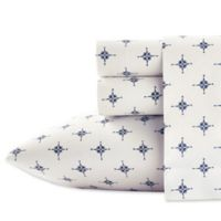 Poppy & Fritz® Compass Queen Sheet Set in Navy