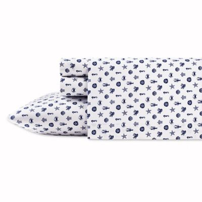 poppy u0026 fritz sea icons twin xl sheet set in navy
