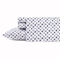 Poppy & Fritz® Sea Icons Queen Sheet Set in Navy