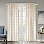 Regency Heights Kendall 84-Inch Rod Pocket/Back Tab Window Curtain Panel in Ivory