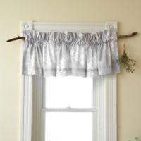 Sanderson Amelia Rose 15-Inch Window Valance in Purple