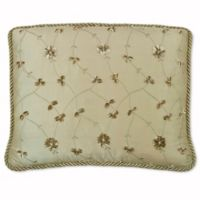 Austin Horn Classics San Tropez Cord Boudoir Throw Pillow in Rust