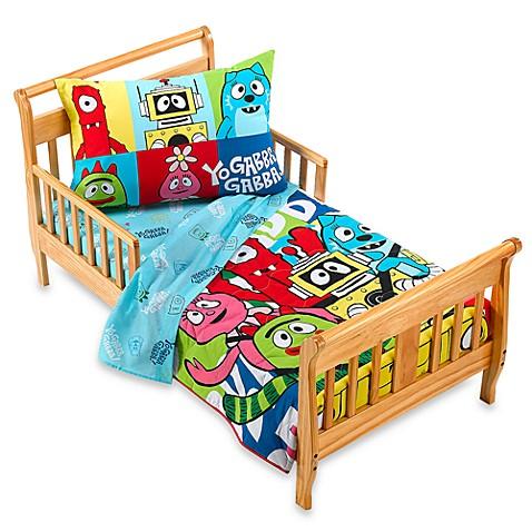 yo gabba gabba toddler bed set bed bath beyond