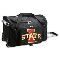Iowa State University 22-Inch Wheeled Carry-On Duffle Bag