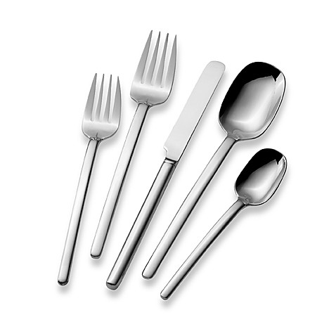 Mikasa 174 Zena 65 Piece Flatware Set Bed Bath Amp Beyond