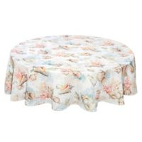 Bardwil Linens Shells Ashore 70-Inch Round Tablecloth