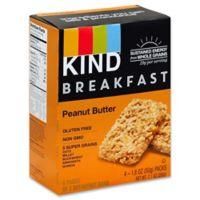 Kind 4-Pack Breakfast Bars in Peanut Butter