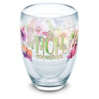 Tervis® Mom Watercolor Floral 9 oz. Wrap Stemless Wine Glass