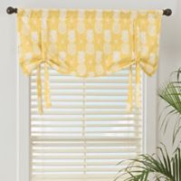 Pineapple Window Valance in Gold