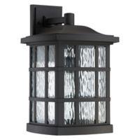 Quoizel Stonington Wall Lantern in Black