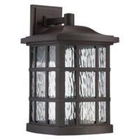 Quoizel Stonington LED Wall Lantern in Bronze