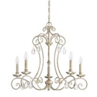 Quoizel Chantelle 5-Light Chandelier in Vintage Gold