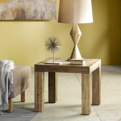 INK+IVY Easton Side Table In Brown