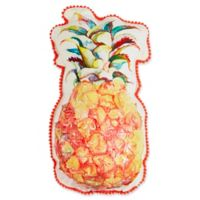 Pineapple Outdoor Oblong Throw Pillow