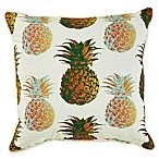 Pineapple 17-Inch Square Outdoor Throw Pillow
