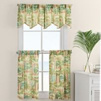 Cayman 24-Inch Window Curtain Tiers Pair