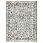 Magnolia Home by Joanna Gaines Ella Rose 5-Foot 3-Inch x 7-Foot 6-Inch Rug in Light Blue/Dark Blue