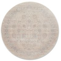 Magnolia Home by Joanna Gaines Ella Rose 9-Foot 3-Inch Round Area Rug in Natural