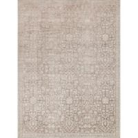 Magnolia Home by Joanna Gaines Ella Rose 2-Foot 7-Inch x 4-Foot Accent Rug in Pewter