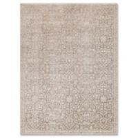 Magnolia Home by Joanna Gaines Ella Rose 5-Foot 3-Inch x 7-Foot 6-Inch Area Rug in Pewter