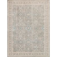 Magnolia Home by Joanna Gaines Ella Rose 6-Foot 7-Inch x 9-Foot 2-Inch Area Rug in Steel