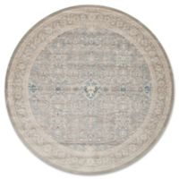 Magnolia Home by Joanna Gaines Ella Rose 7-Foot 7-Inch Round Area Rug in Steel