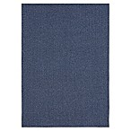 Mohawk® Home Back to College Lockstitch 5-Foot x 7-Foot Area Rug in Blue
